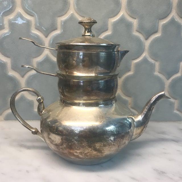 Restoration Hardware Silver Plated Raj Teapot