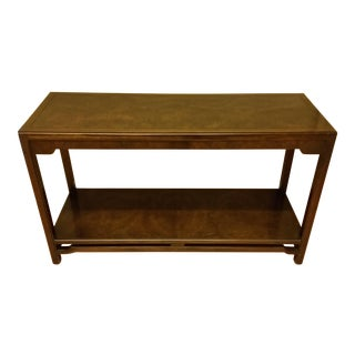 Thomasville Burlwood Sofa Table For Sale