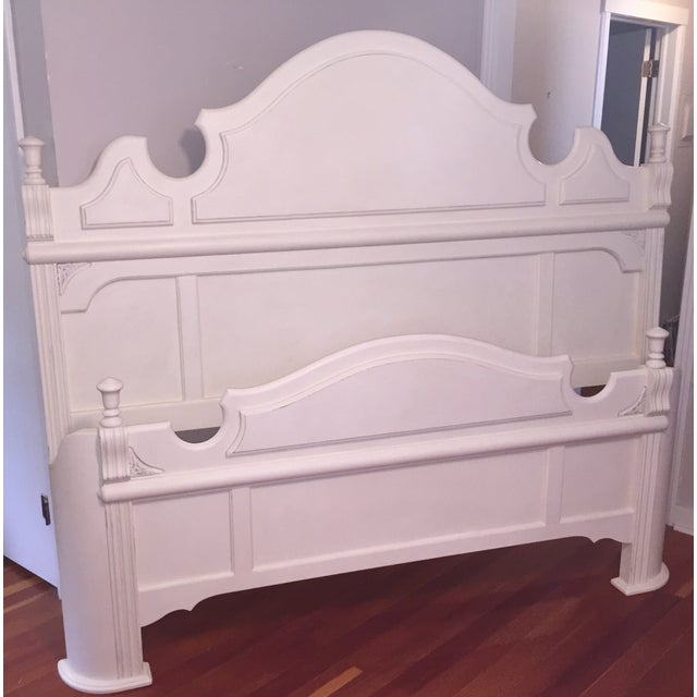 White King Size Bed Frame - Image 2 of 9