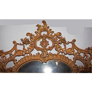 19th Century Louis XV Over Mantel Giltwood Mirror Preview