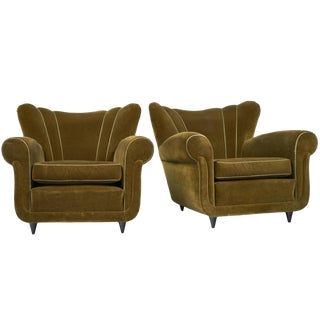 Italian Paolo Buffa Style Armchairs