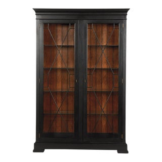 Ethan Allen Birkhouse Display Cabinet
