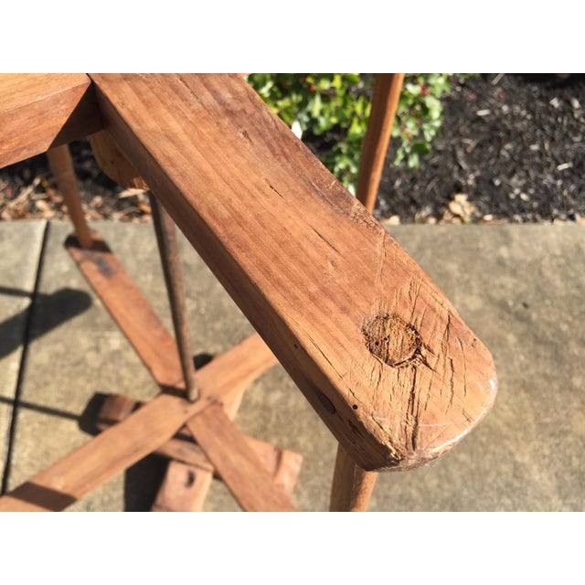 Early 19th Century 19th Century Antique French Yarn Holder For Sale - Image 5 of 6