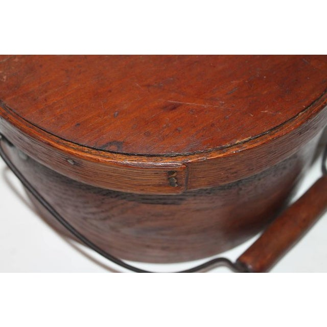 Group of Two 19th Century Bail Handled Pantry Boxes from New England For Sale - Image 4 of 10