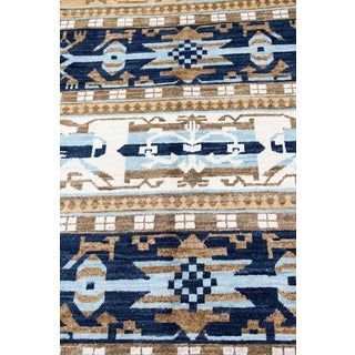 """Afghan Blue Transitional Rug-10'4'x14"""" Preview"""