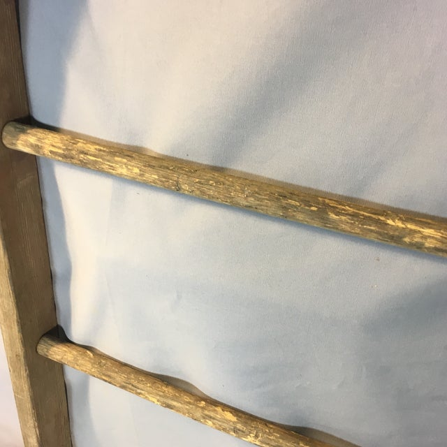 Rustic Country Decorative Ladder For Sale In Boston - Image 6 of 8
