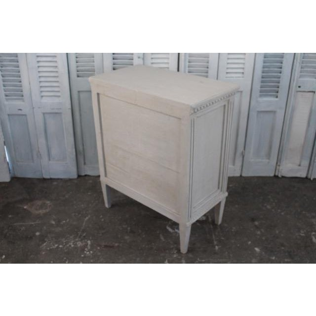 20th Century Swedish Gustavian Style Nightstands - A Pair For Sale - Image 11 of 12
