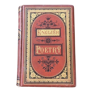 1875 Cyclopaedia of English Poetry For Sale