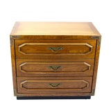 Image of Mid-Century Walnut Chest of Drawers For Sale