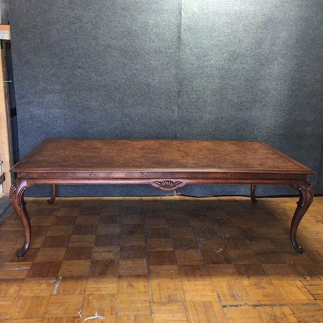Thomasville Dining Table With 2 Leaves - Image 3 of 11