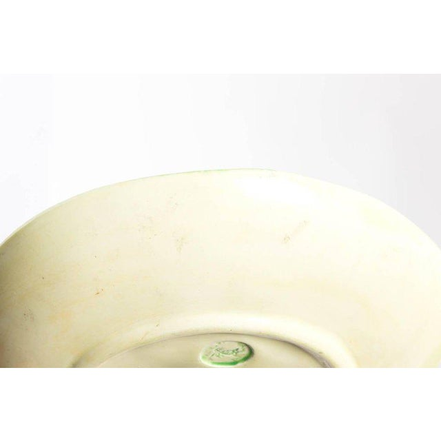 Mid 20th Century Dodie Thayer Lettuce Side Plates - a Pair For Sale - Image 5 of 11