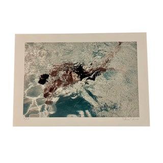 "Signed Original Fine Art Coastal Style Photograph ""Whirl"" by Patricia Perez Abreu For Sale"