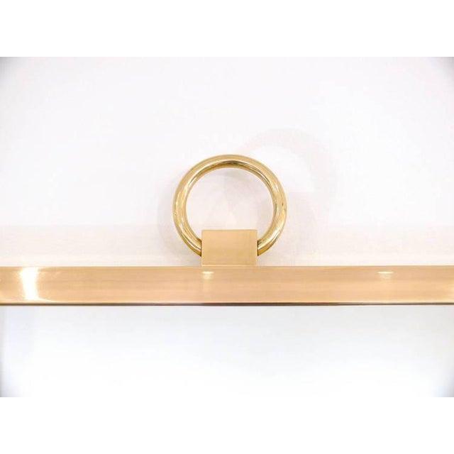 CF Modern Custom Solid Brass Square Mirror - Image 2 of 6