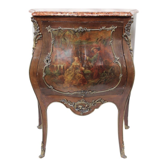 """Louis XV Style """"Vernis Martin"""" Cabinet - Image 1 of 10"""