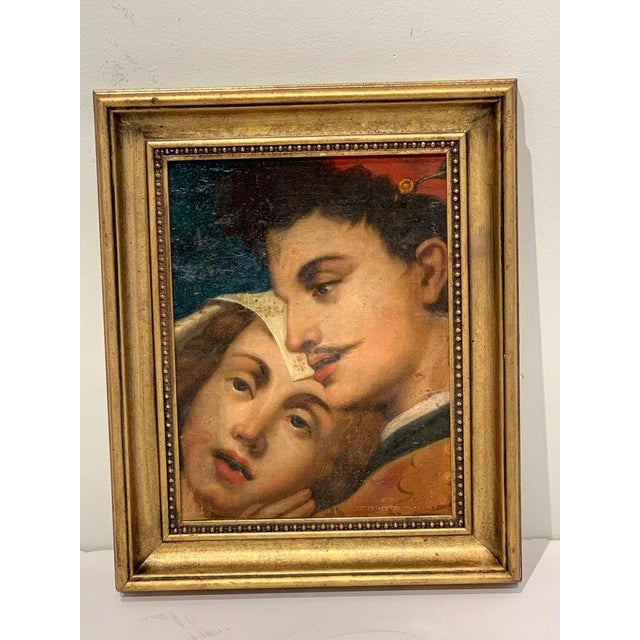Near Pair of Old Master Romantic Portraits For Sale In West Palm - Image 6 of 10