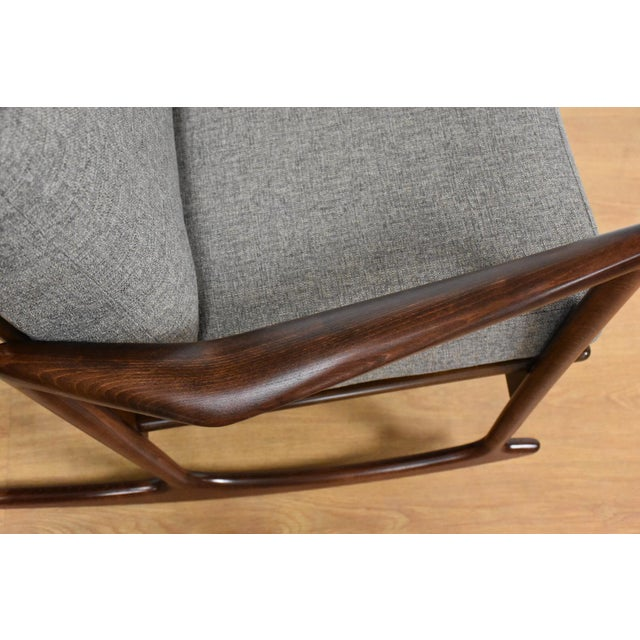 Ib Kofod Larsen for Selig Rocking Chair - Image 9 of 11
