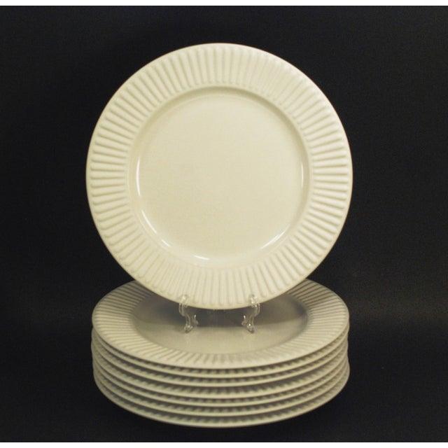 Modern Dansk Rondure Rice White Dinnerware - S/18 For Sale - Image 3 of 9