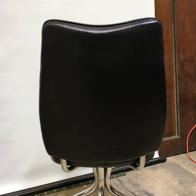 Vintage Daystrom Furniture Chrome Leatherette Swivel Dinette Chair For Sale In Washington DC - Image 6 of 10
