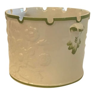 Vintage Italian Hand Painted Planter For Sale