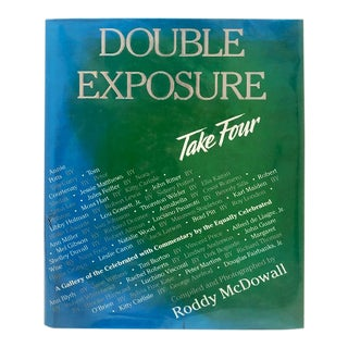 Double Exposure Take 4 Book by Roddy Mcdowall For Sale