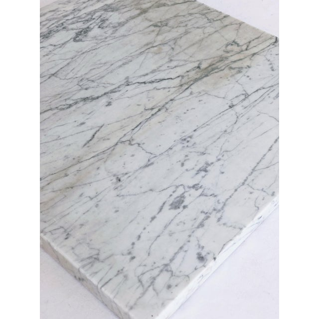 Lovely antique marble remnant. We think these are gorgeous as cheese or charcuterie boards, but use them at will as a...