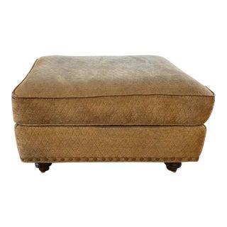Henredon Beige Upholstered Ottoman