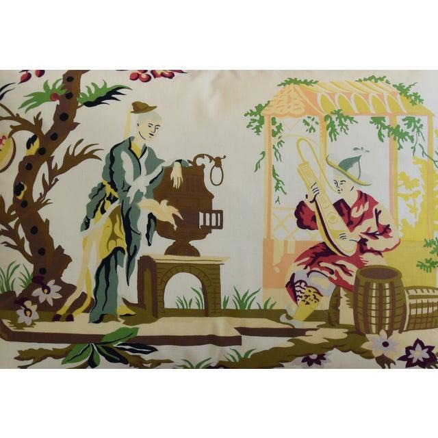 "Brunschwig & Fils Brunschwig Fils & Scalamandre Velvet Feather/Down Pillows 23"" X 17"" - Pair For Sale - Image 4 of 13"