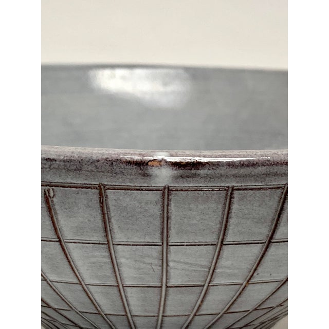 Bitossi Mid Century Modern Ceramic Console Bowl For Sale - Image 12 of 13