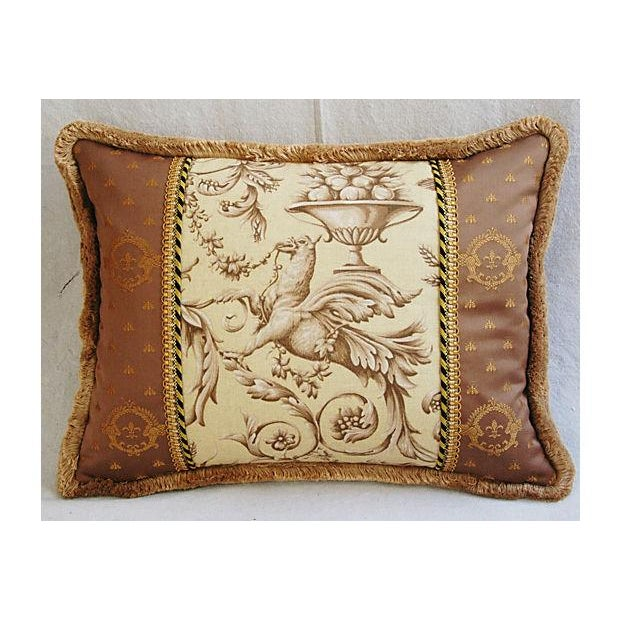 Designer Braemore Mythical Griffin Pillows - Pair - Image 4 of 8