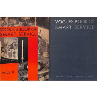 Vogue's Book of Smart Service For Sale