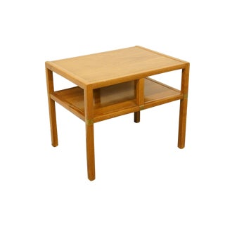 Vintage Mid Century Tung Si Orignal Asian Inspired End Table For Sale