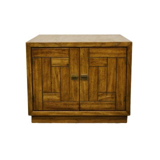 "Drexel Heritage Woodbriar Collection 26"" Square Accent Storage End Table 987-374-2 For Sale"