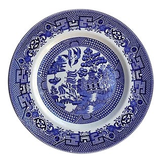 Staffordshire Blue Willow Wall Decor Plate