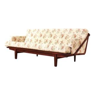 Poul Volther for Frem Rojle - Danish Modern Floral Sofa / Daybed