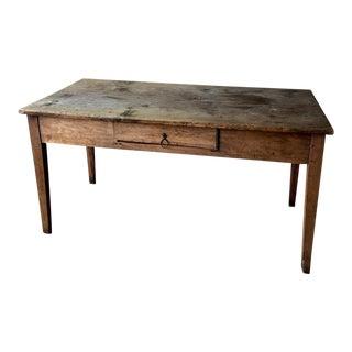 Antique Farmhouse Kitchen Table- Italian For Sale