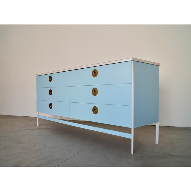 Incredible Mid-century Modern dresser for sale. Designed and manufactured by the trendsetting company Vista of California....