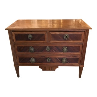 19th Century Louis XVI Fruitwood Commode For Sale