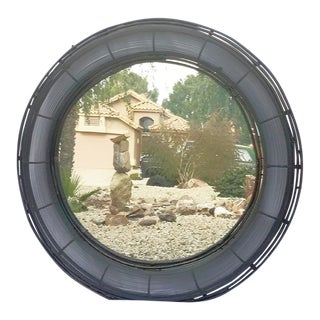 Interlude Home - Large Round Wall Mirror
