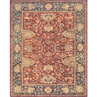 """Mansour Superb Quality Handwoven Agra Rug - 8' x 9'10"""" For Sale"""