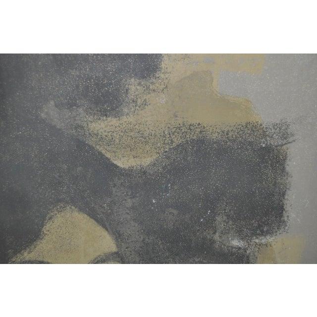 """Andre Mineaux """"Tete de Femme"""" Original Lithograph c.1960s For Sale - Image 9 of 11"""