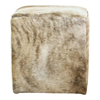 Hd Buttercup Pony Hide Ottoman For Sale