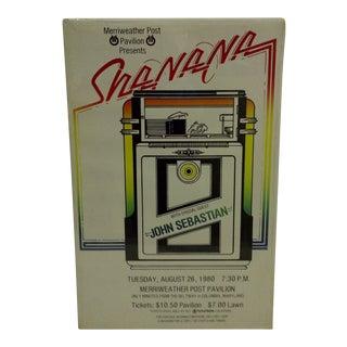 Vintage Sha-Na-Na Concert Poster For Sale