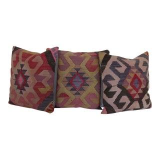 Decorative Rug Pillows - Set of 3