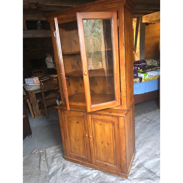 Country Kitchen Cupboard Cabinet With Lots of Storage For Sale - Image 4 of 12
