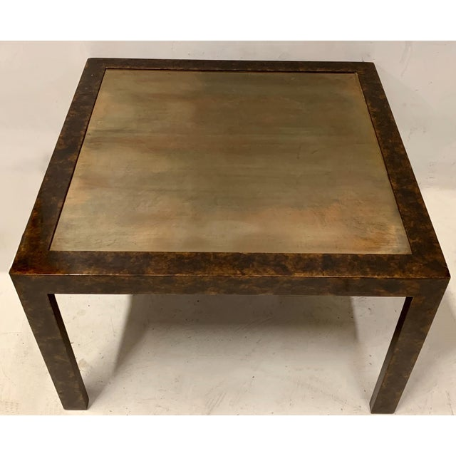 John Widdicomb Modern Parsons Style Table For Sale In Atlanta - Image 6 of 6