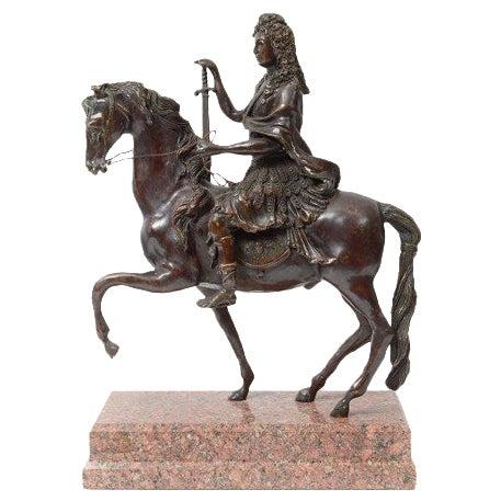 Bronze Rider on Horseback - Image 1 of 4