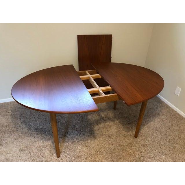 Teak Borge Mogensen Danish Modern Teak Dining Table For Sale - Image 7 of 11