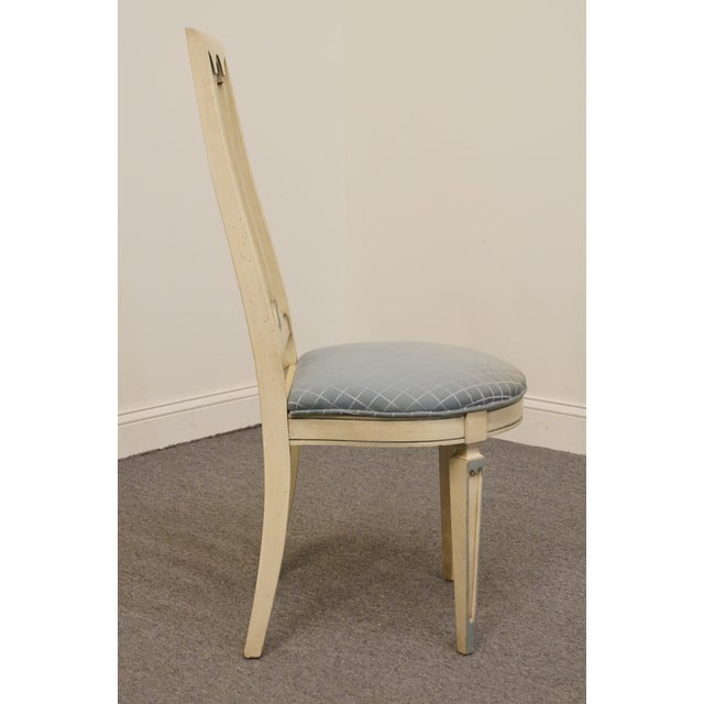 Wood Late 20th Century Vintage American of Martinsville Cotillion Collection French Provincial Chair For Sale - Image 7 of 8