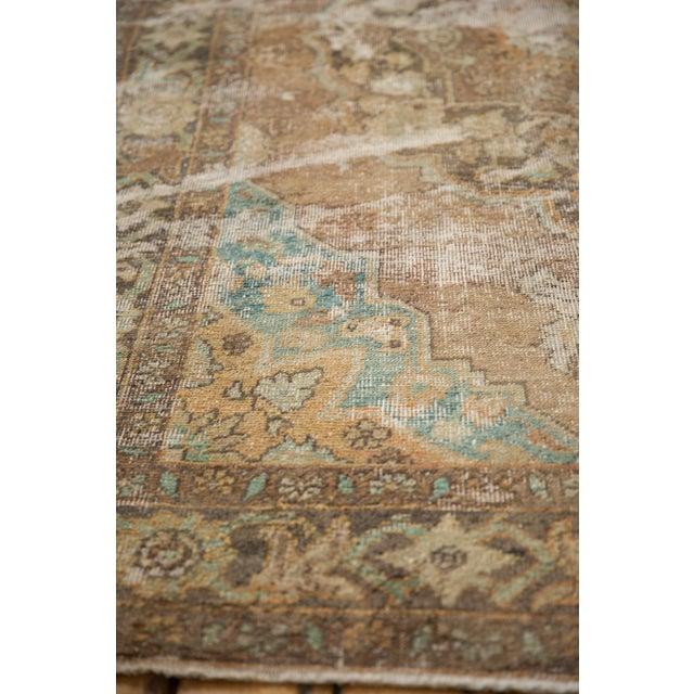 "Vintage Distressed Oushak Carpet - 5'6"" X 8'6"" For Sale - Image 10 of 13"