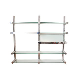 Illuminated Orba Wall Unit by Janet Schwietzer for Pace Collection For Sale